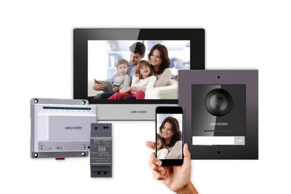 vidéophone hikvision